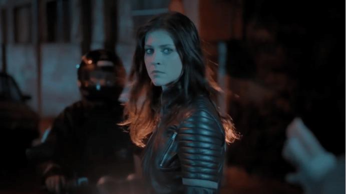 A Garota da Moto virará filme (Foto: Reprodução/Record)