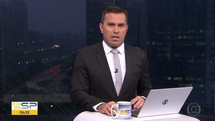 O jornalista da Globo Rodrigo Bocardi tem um vídeo íntimo atribuído a ele na web (Foto: