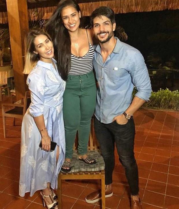 Bella Falconi, Simone e Lucas Fernandes (Foto: Reprodução/Instagram)
