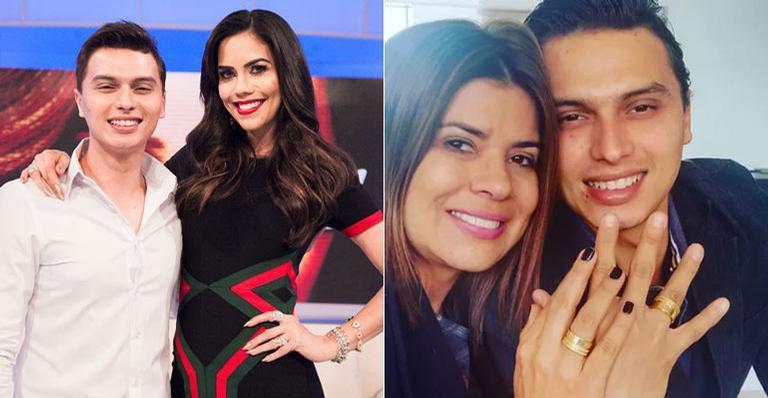 Gabriel Torres, noivo de Mara Maravilha (Foto: Reprodução)