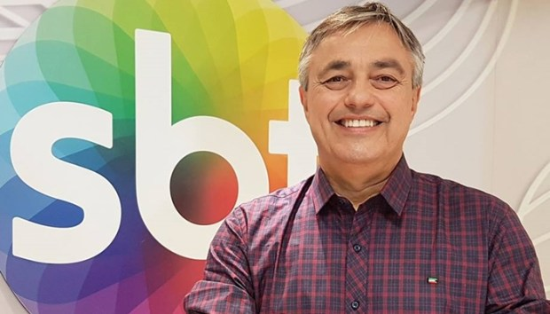 O jornalista Ricardo Vidarte, do SBT (Foto: Reprodução/Facebook)