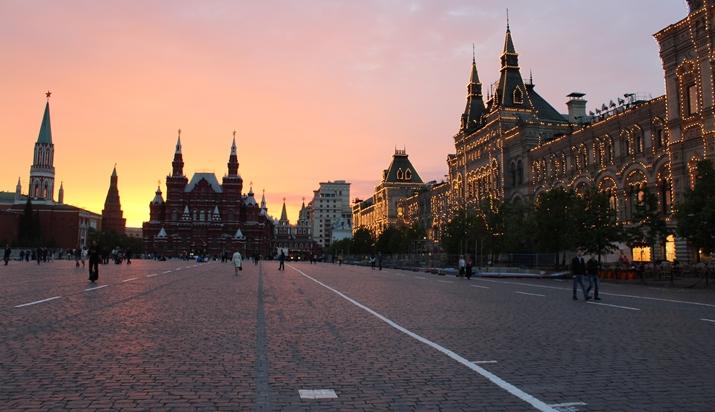 Estúdio da Globo será montado na Praça Vermelha, em Moscou. (Foto: Divulgação)