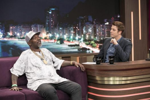 Mr. Catra no Porchat Edu Moraes/Record TV