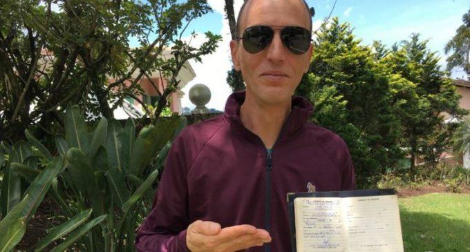 Rodolfo reaparece depois de 6 meses sumido (Foto Reprodução)