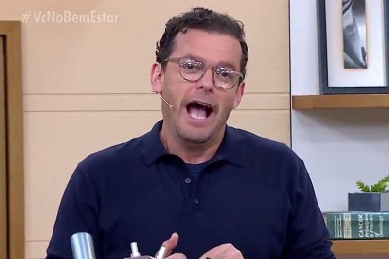 O apresentador Fernando Rocha (Foto: Reprodução)