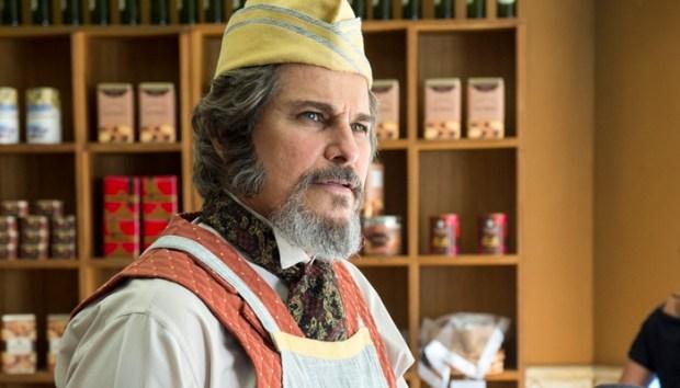 Dom Sabino (Edson Celulari) em cena de O Tempo Não Para (Foto: Globo/Estevam Avellar)