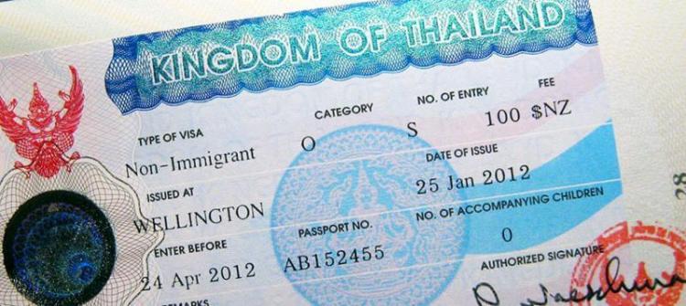 visa thailandais