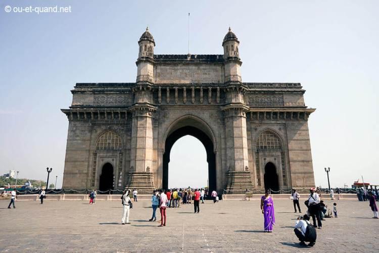 porte de l'inde à bombay (gateway of india)