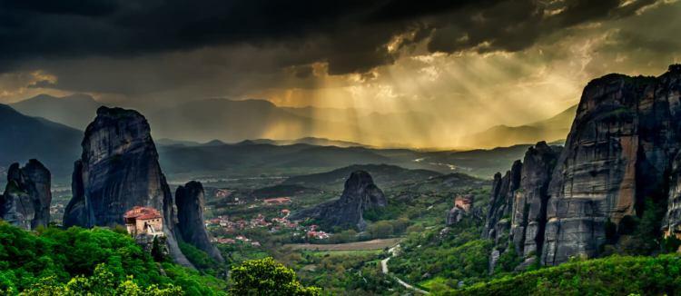 Aller en Grèce voir les météores