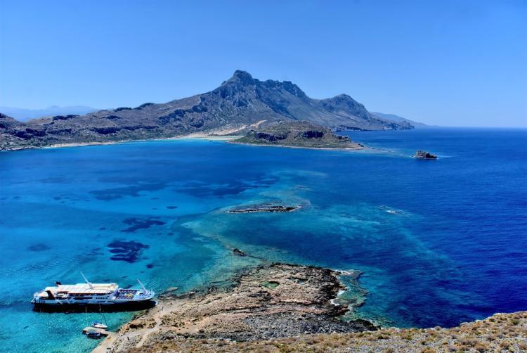 La mer en Crète