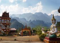 Temple au Cambodge