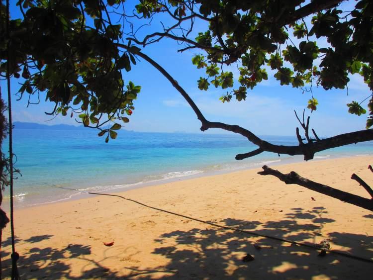 Une plage à Koh Lanta