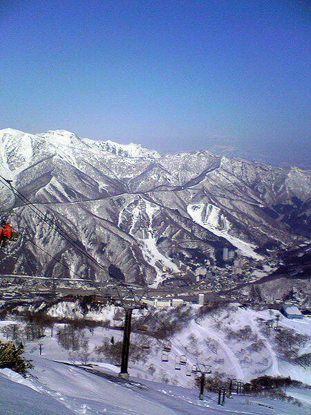 Le domaine skiable de Naeba