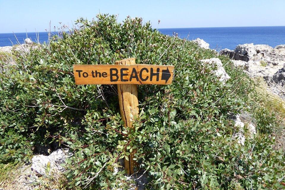 Allons à la plage!