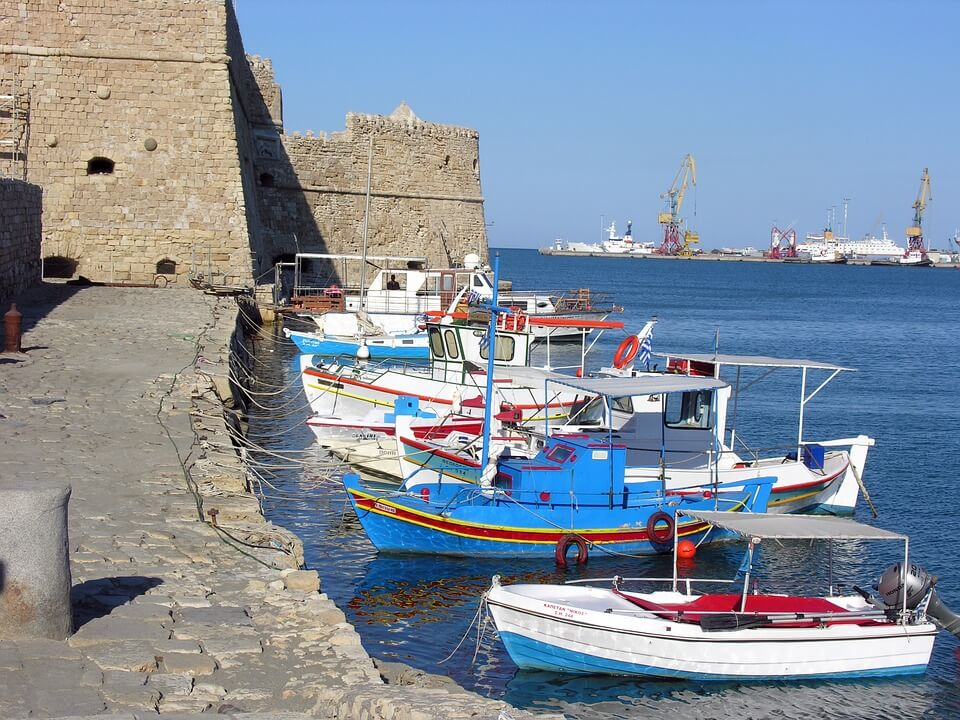 Héraklion et son port