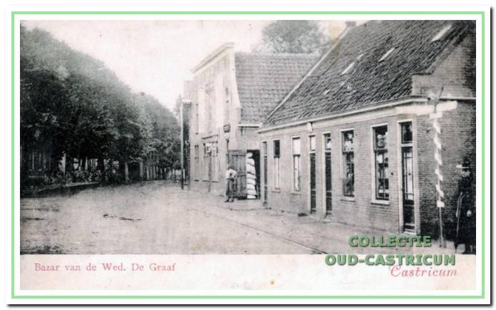 Rijksstraatweg (nu Dorpsstraat) in 1901.