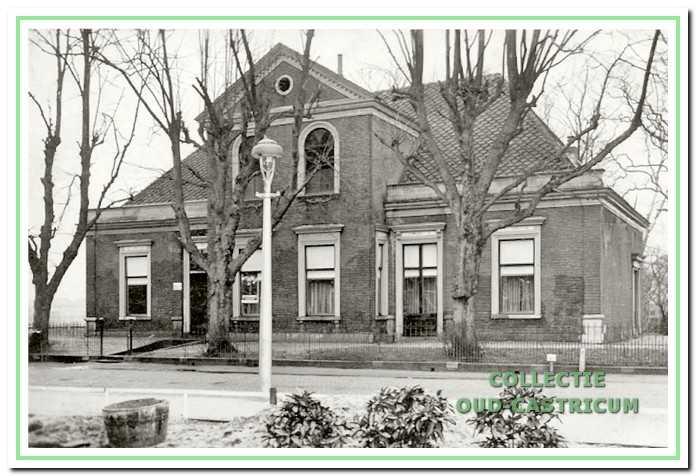 Kerkzicht in 1933. Toen in gebruik door het patronaatsbestuur.
