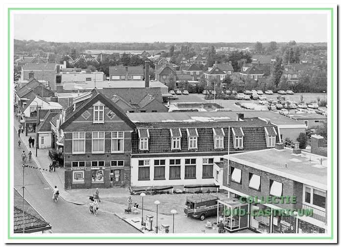 De Rustende Jager in de Dorpsstraat 60-62 van Castricum, 1974