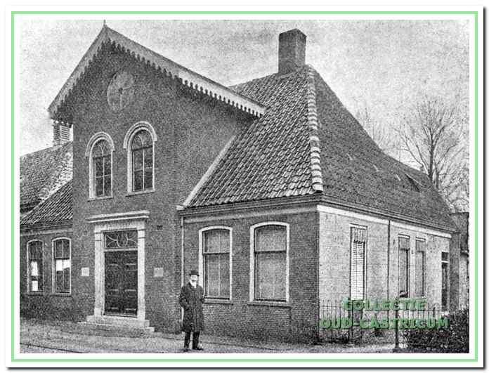 1909: Het oude raadhuis aan de Rijksstraatweg.