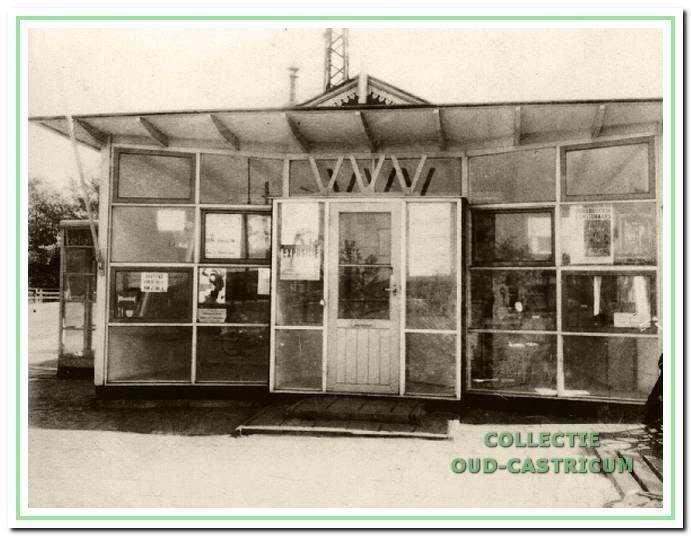 De eerste kiosk bij het oude station is in 1960 gebouwd.