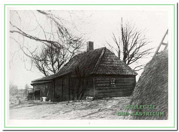 De niet meer bestaande duinboerderij 'Klein Johanna's Hof', die tijdens de duinontginning in de 19e eeuw in bedrijf was.