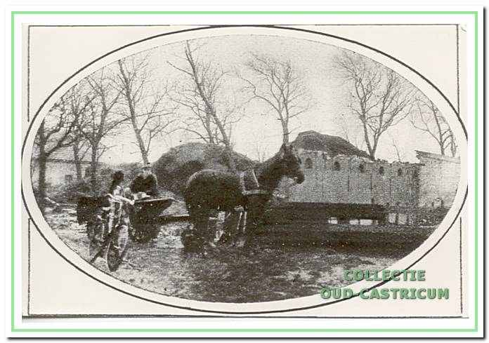 Afgebrande boerderij van Liefting.