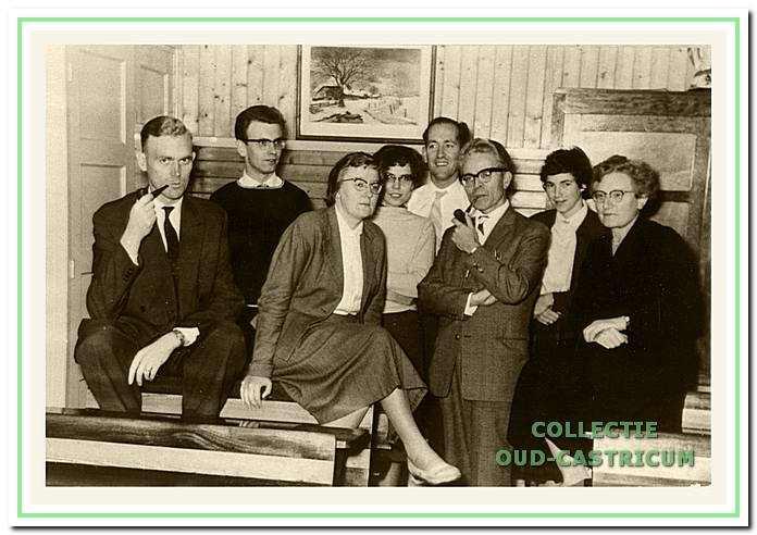 Onderwijzersteam van de Cuneraschool in 1959