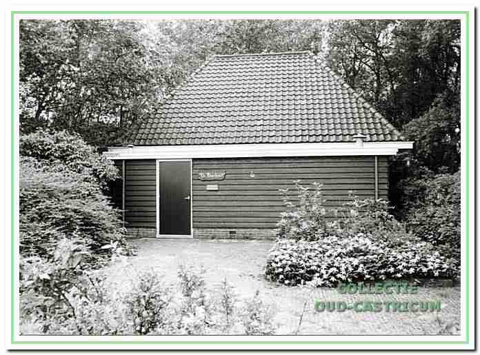 Dit is het gebouw van de werkgroep Oud-Castricum, voor de verbouwing.