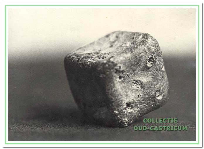 Het dobbelsteentje.