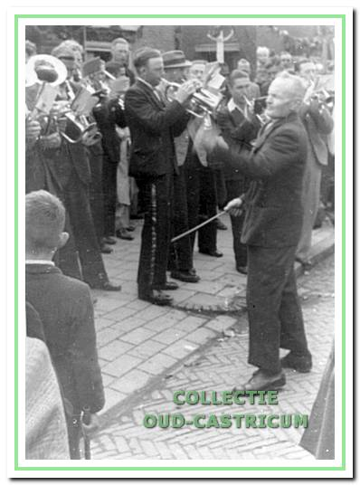 Piet Kuijs genoot als dirigent van diverse fanfarekorpsen een groot aanzien.