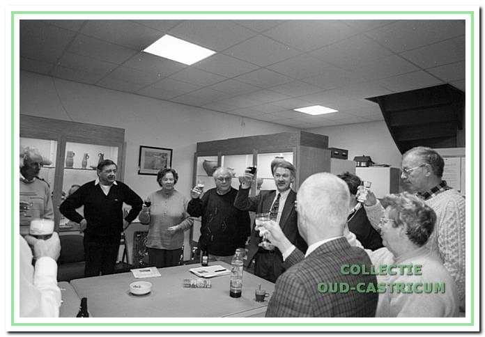 Nieuwjaarsbijeenkomst 1997 van de werkgroep Oud Castricum.