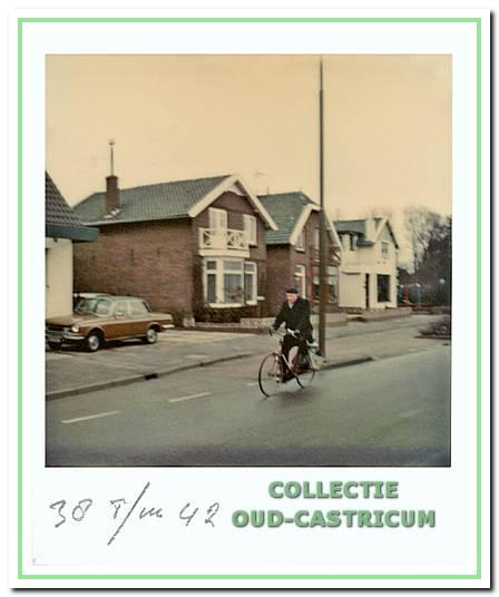 De panden Dorpsstraat 144, 146 en 148, ca. 1974.