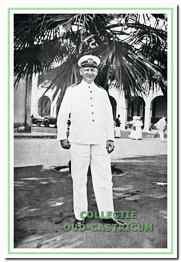 Kapitein Rommel hier in Port-Said.