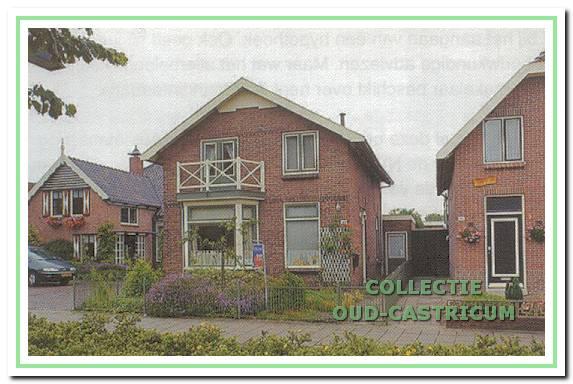 De villa Dorpsstraat 144 in 1999, toen bewoond door de familie Verschuren.