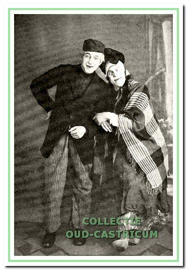 Het 'verliefde paar' was voor Castricum een soort Snip en Snap revue uit de late jaren (negentien) veertig.
