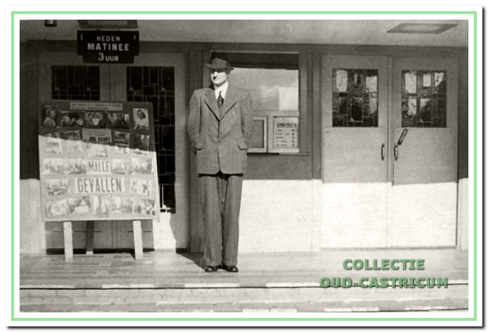 Aannemer Jan Res (1899-1962), mede-eigenaar en bouwer van de Corso.