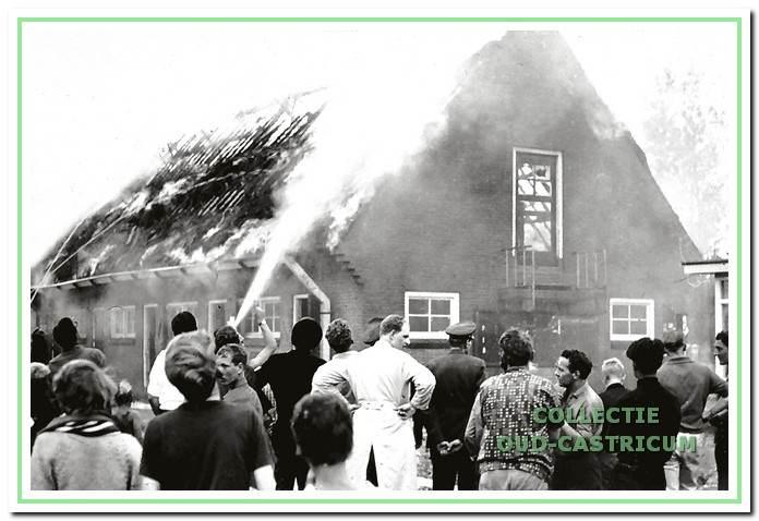 Een gevaarlijke brand op 10 augustus 1965, die een grote consternatie op de camping Bakkum.