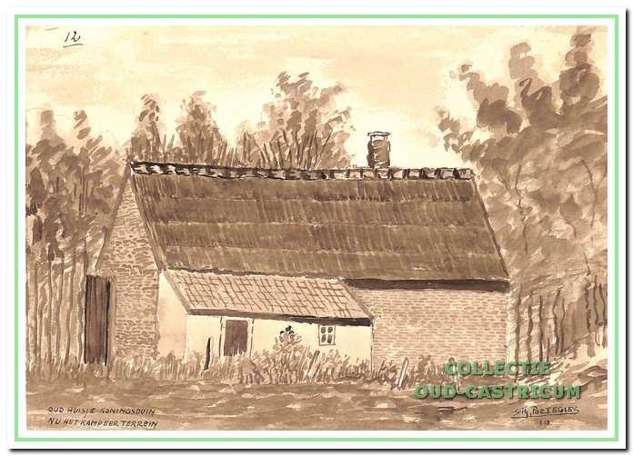 Huisje van Teun Oostermeijer (gesloopt in 1910).