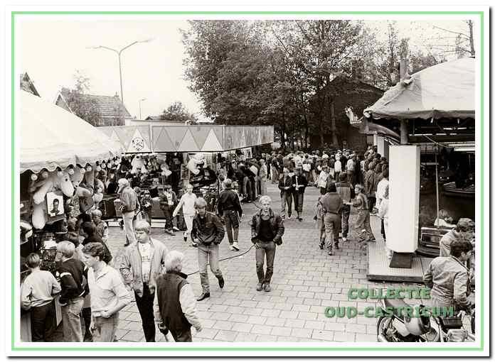 Bakkummer kermis aan de Van der Mijleweg.