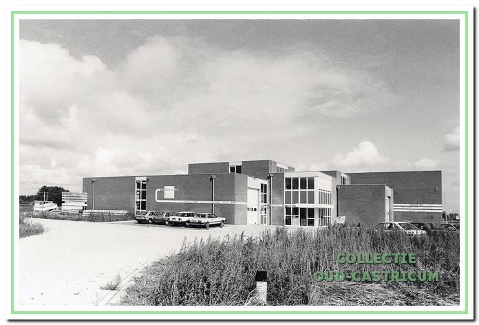 Het nieuwe bedrijfspand van A.C. Borst op de Castricummer Werf.