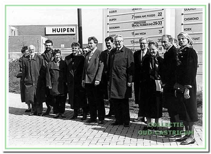 Opening bedrijventerrein Castricummerwerf.