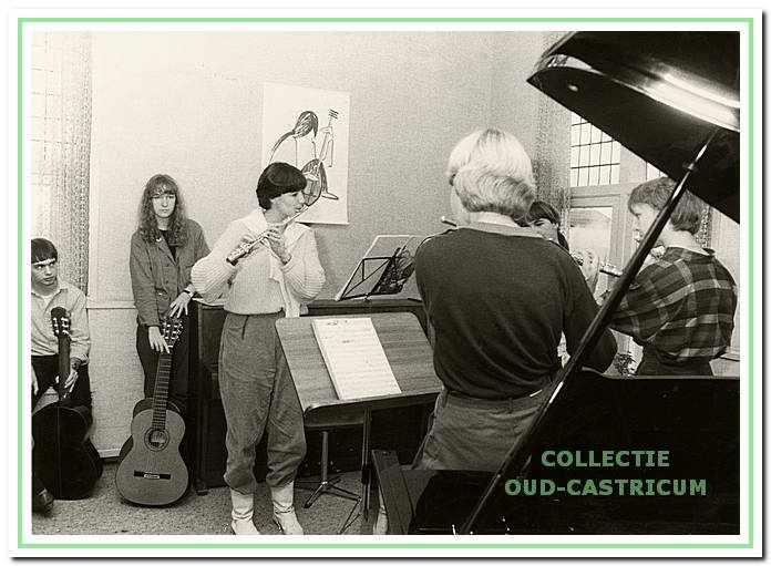 De muziekschool huisde een periode in het oude Raadhuis aan de Dorpsstraat 65 in Castricum.