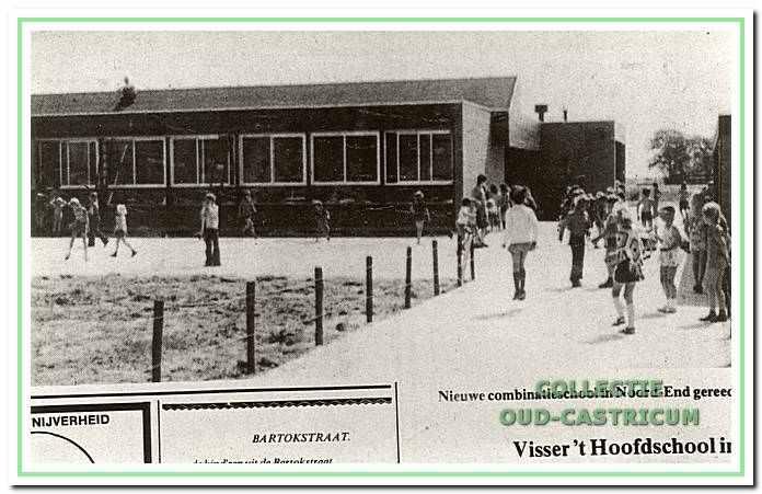 De Visser 't Hooftschool aan de Kemphaan 17 in  Castricum.