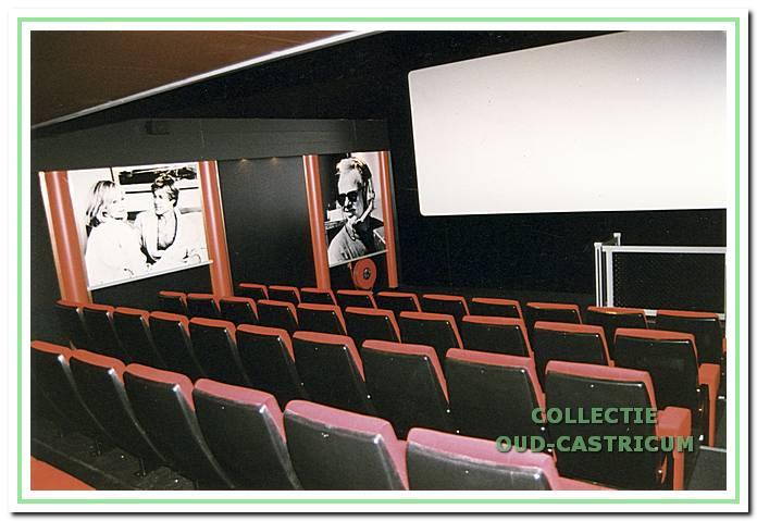 Interieurfoto van bioscoop Corso.