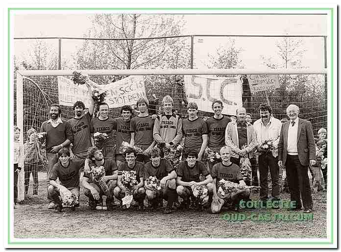 SCC werd voor de laatste keer kampioen in 1983 en promoveerde naar de 4e klasse KNVB.