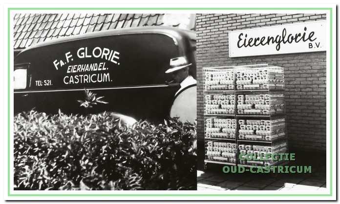 De eierhandel van Frans Glorie.