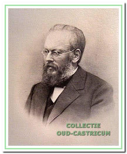 De eerste geneesheer-directeur dr. J. W. Jacobi.
