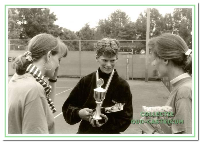 Een jeugdige Sjeng Schalken was in 1990 een van de winnaars van het 'Van Keeken'. In 2009 kwam hij terug voor de opening van het 'Biesterbos Open'.