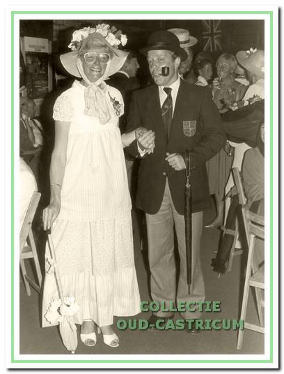 In juni 1982 werd het eerste lustrum gevierd met een feest in 'English style'.