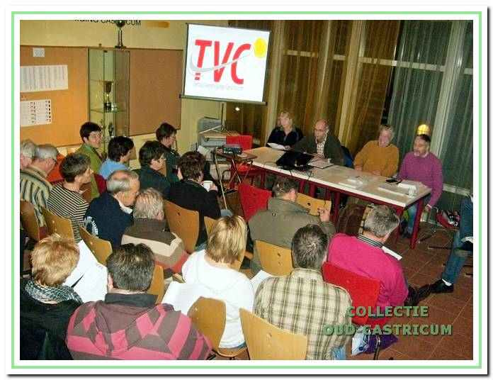 In de ledenvergadering van 2 februari 2009 stelde TVC een activiteitenplan voor de komende jaren vast.